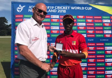 Zimbabwe upcoming star Wesley Madhevere signs as 2020 overseas player