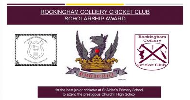 Rockingham Colliery Cricket Club Scholarship Award
